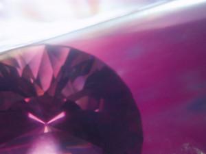 紫のダイヤ